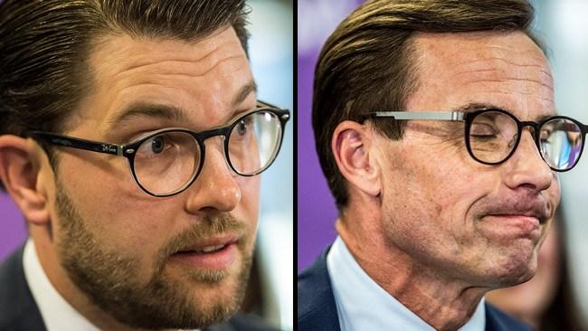 """Åkessons blytunga kritik mot M: """"Släppte fram en kommunist"""""""