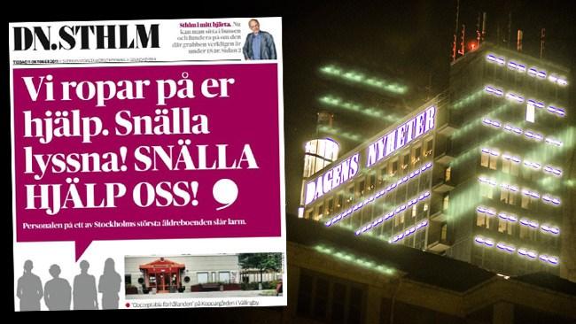 DN mörkar Koppargårdens äldreboende i rapportering om dödsfall
