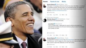 Obama tappade två miljoner följare efter Twitter-utrensning