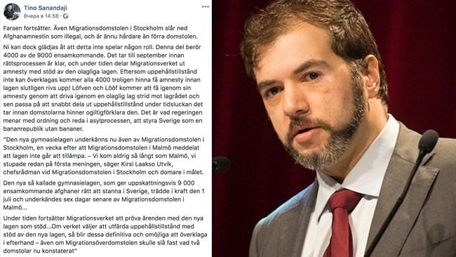 """Sanandaji sågar Löfven och Lööf: """"Farsen fortsätter"""""""