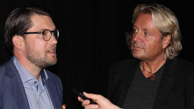 """""""Runar Sögaard kommer inte att skriva Jimmie Åkessons självbiografi"""""""