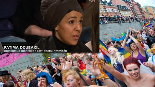Känd islamist bjöds in till panelsamtal på alternativ pridefestival