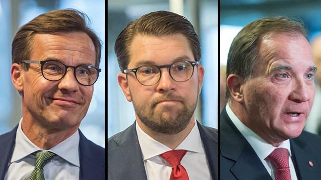 Löfven naziststämplar Moderaterna och Sverigedemokraterna