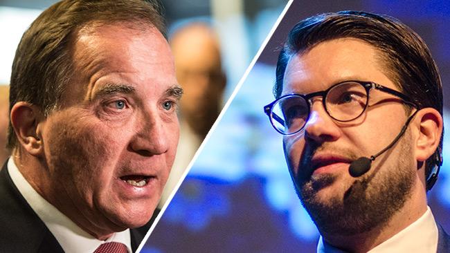 Sverigedemokraterna valjer regeringens sida