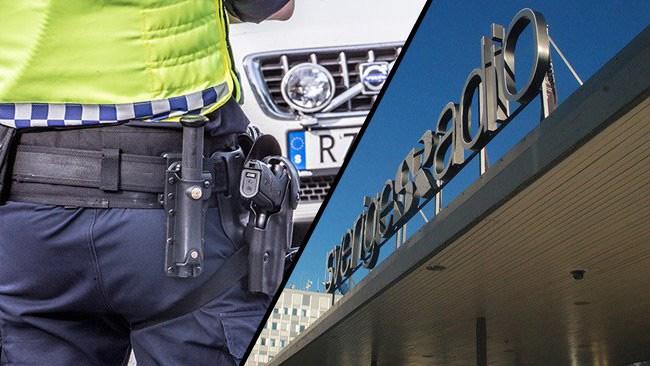 Åtalad kriminalreporter hotade med Sveriges Radio när handbojorna åkte på efter krogslagsmål