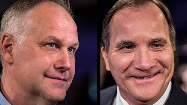 Sjöstedt har kommit överens med Löfven