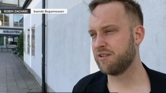 """Vänsterprofil intervjuades i SVT som """"Mannen på gatan"""""""