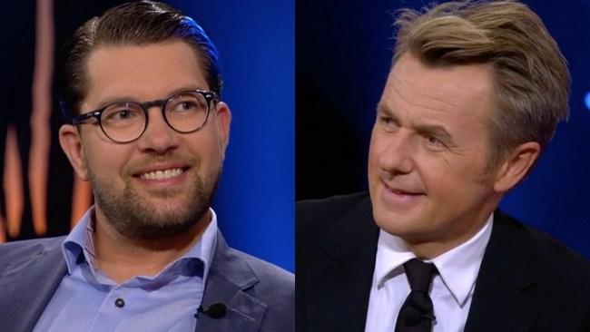 """Åkesson tystar Skavlan: """"Det är ett kulturkrig som pågår"""""""