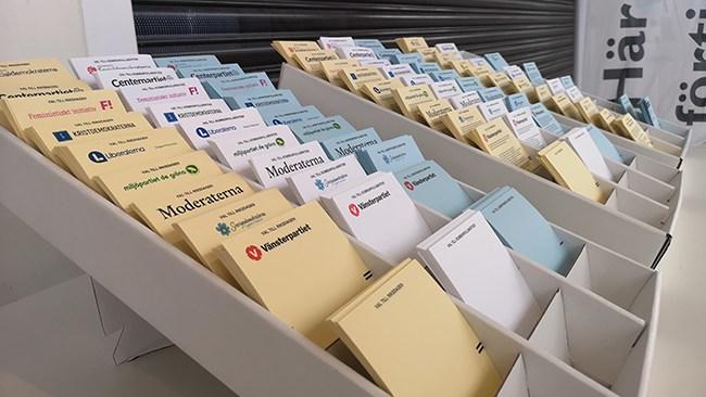 Rösträkningskaos i Tyresö - Miljöpartiet fick dubbla antalet röster