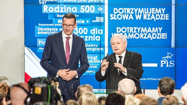 Måttliga framgångar för polska regeringspartiet i regionala val