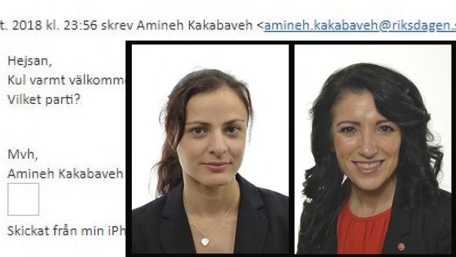 SD:are nekas medlemskap i Kakabavehs nätverk – har fel värdegrund