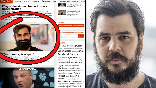 Nyheter Idag kräver ersättning av Magasinet Paragraf för otillåten  användning av en bild på riksdagsledamoten Hanif Bali (M). Det är Nyheter  Idag-grundaren ... b94f58a5d1b69