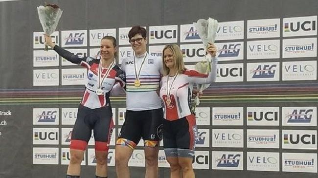 Transsexuell vinner cykeltävling