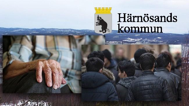 Äldre får stå för kalaset när Härnösands kommun ska spara