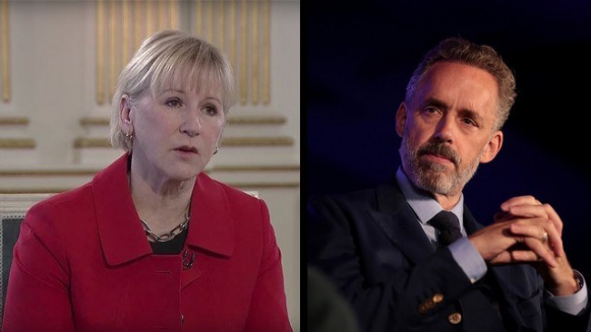 Swedish Foreign Minister Wallström says Jordan B Peterson should've 'stayed under a rock'