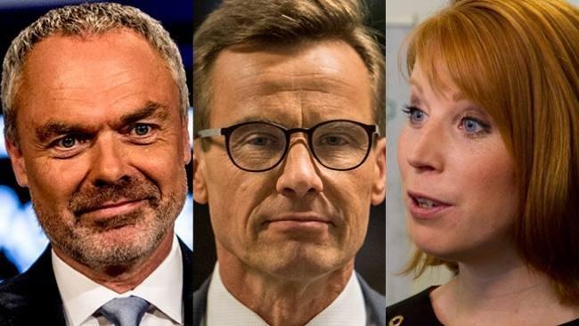 Historiska sveket: Lööf och Björklund röstade nej till Kristersson
