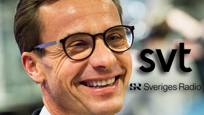 M bakom tvingande skattefinansiering av SVT och SR – får stenhård kritik