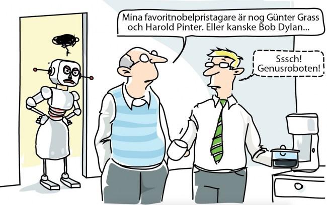 Genusroboten på Svenska Dagbladet