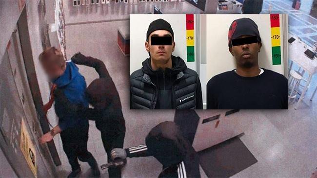 Här fångas rånarnas dödshot på film – nu åtalas två