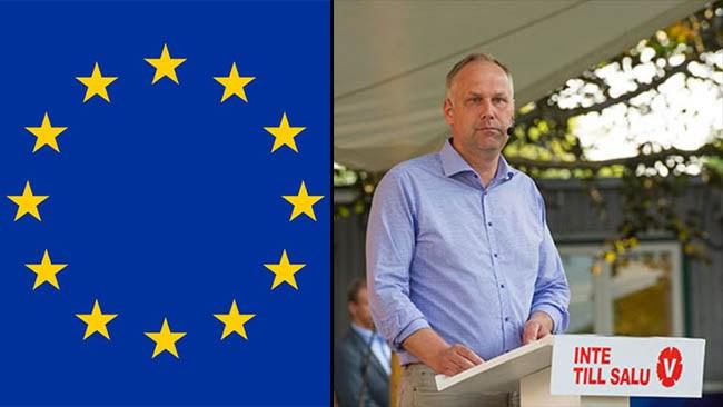 Svängningen: Nu vill Sjöstedt stanna i EU