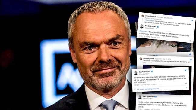 """Best of Jan Björklund på Twitter: """"Röst på SD kan bli en röst på Löfven"""""""