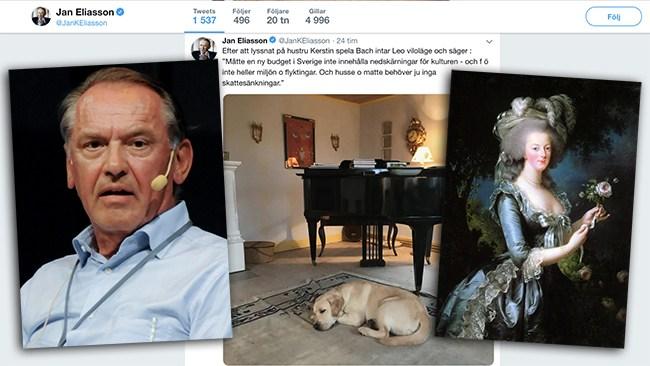 "S-profilen Eliasson i blåsväder: ""Årets Marie Antoinette"""
