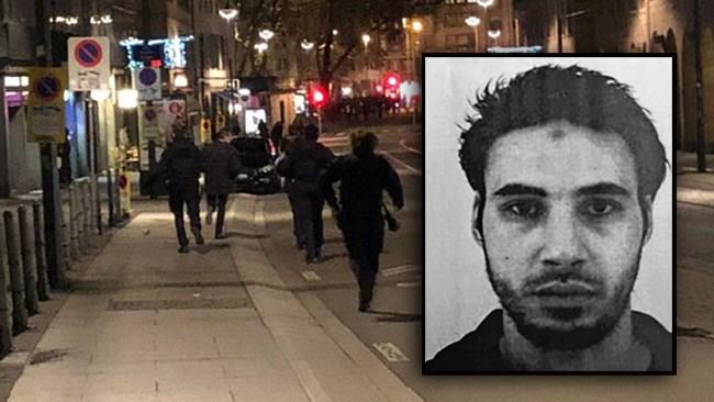 Islamist jagas efter terrorattack på julmarknad i Strasbourg – minst tre döda