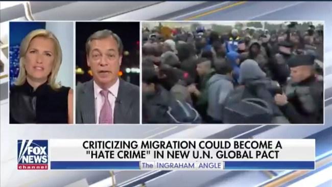 """Varnar för migrationspakten: """"Kan bli olagligt att kritisera invandring"""""""