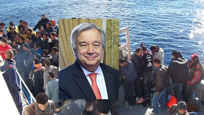 FN:s generalsekreterare: Väst behöver migranter