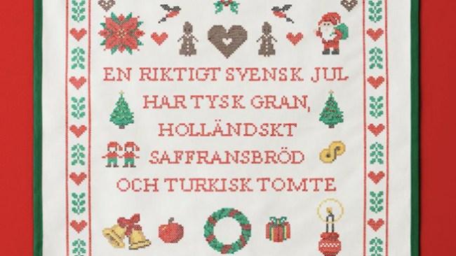 """Åhléns """"slår hål på myten"""" om svensk jul –hyllar mångfald"""