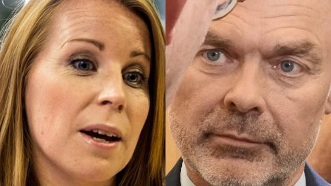 C och L straffas av väljarna – rasar i ny mätning