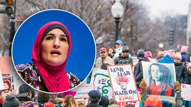 """Hårda anklagelser mot arrangör av kvinnomarsch mot Trump: """"Antisemitisk terrorist"""""""