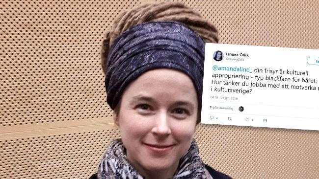 """Attacken på kulturministerns frisyr – """"typ blackface för håret"""""""