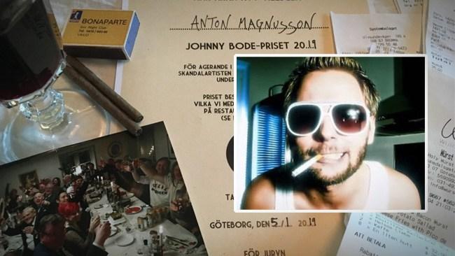 Mr Cool belönas med Johnny Bode-priset