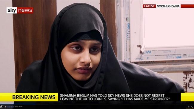 """IS-hona: """"Många människor borde känna sympati för mig"""""""