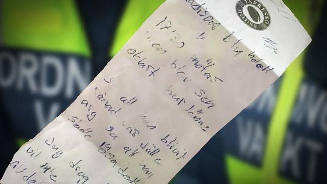 Ordningsvakt fejkade rån och pekade ut oskyldig – fick väktare att ljuga för polisen