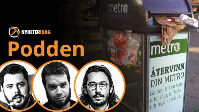 Fokus ekonomiredaktör Sidea: Så bidrog Nyheter Idag till att sänka Metro