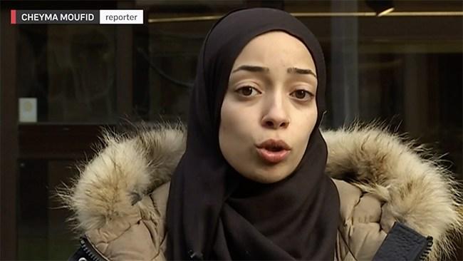 Reporter med hijab – nu svarar SVT