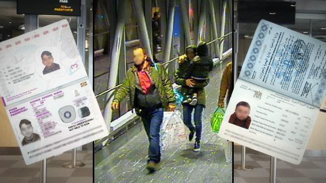 Övermodig människosmugglare försökte få in 2-åring på 6-årings pass