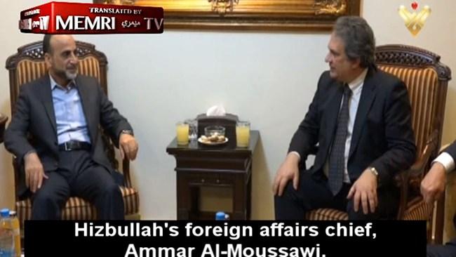 Europeiska högerextremister på besök hos Hizbollah