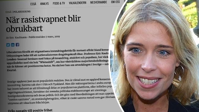 """""""Rent rasistisk"""" – Strandhälls attack mot Kvartal"""