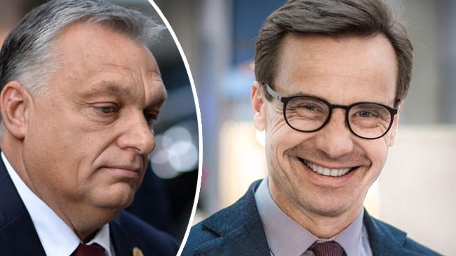 """""""Känns väldigt bra"""" – M och KD gläds över att Orbáns parti stängs ute"""