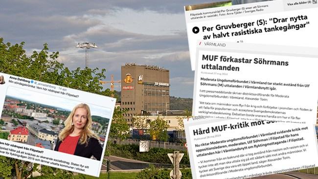 """Ulf Söhrman (M) i Filipstad brunmålades av partikamrater – nu har han fått rätt: """"Jag är ganska hårdhudad"""""""