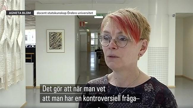 Oops, SVT did it again: Glömde berätta att docent var S-politiker