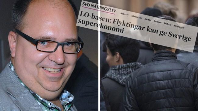 "Hade fel – LO-bossen Thorwaldsson (S) om asylinvandring: Kan ge Sverige ""superekonomi"""