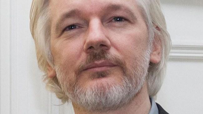 Assange gripen i London
