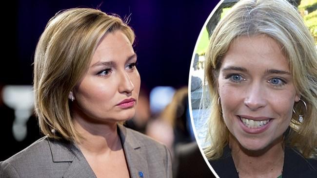 """Strandhäll (S) kritisk mot näthat – har själv smutskastat Busch Thor med nazistanklagelser: """"Blåbrun agenda"""""""