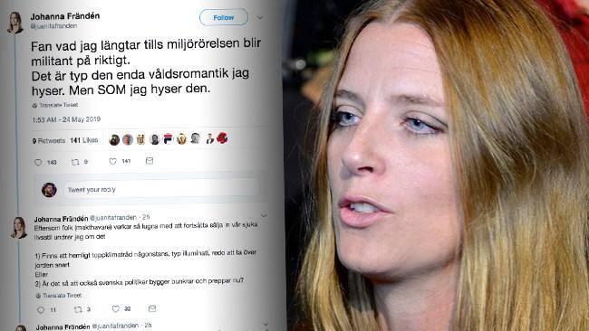"""Våldsromantik jag hyser"" – SVT-journalist efterlyser militant miljörörelse"