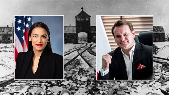 Amerikanska vänsterpolitikern jämförde förvar av migranter med koncentrationsläger – bjuds in att se de riktiga lägren