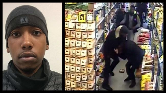 Döms för misshandel i matbutik – men varken offret eller personalen vågade vittna